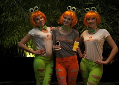 Models der Promotionagentur PRO-VOGUE für Smartfrog