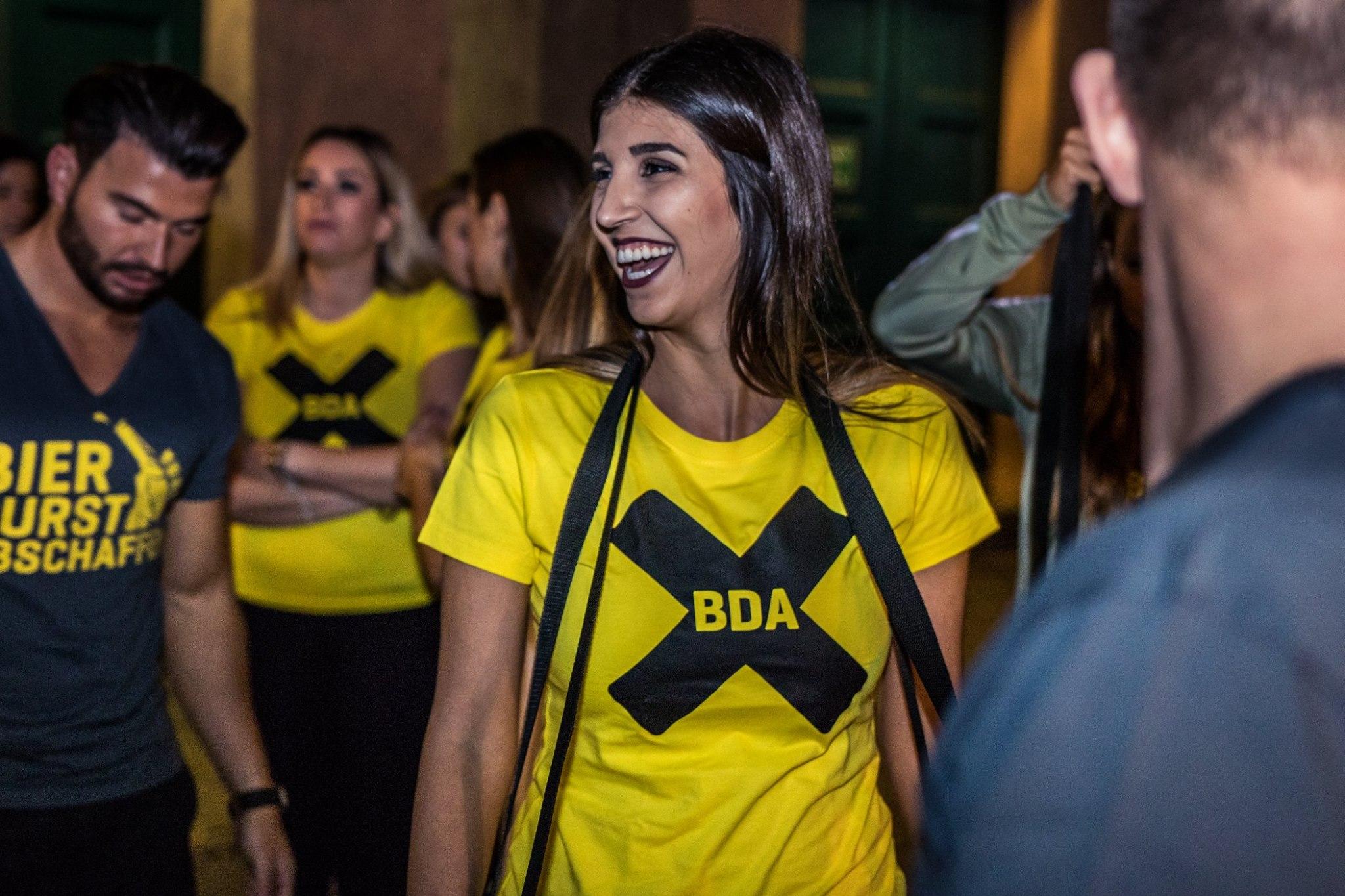 Promoterinnen und Promoter der Promotionagentur PRO-VOGUE für bda creative