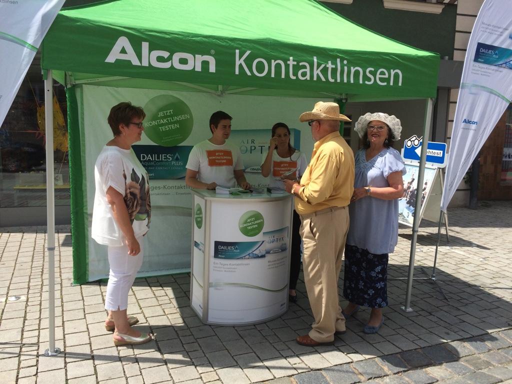 Promoter der Promotionagentur PRO-VOGUE für Alcon Vision Care