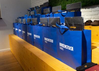 konfektionierte Birkenstock Papptüten