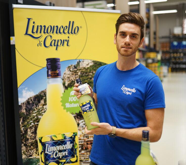 Promoter der Promotionagentur PRO-VOGUE für Bremer Spirtousen Contor für Limoncello di Capri