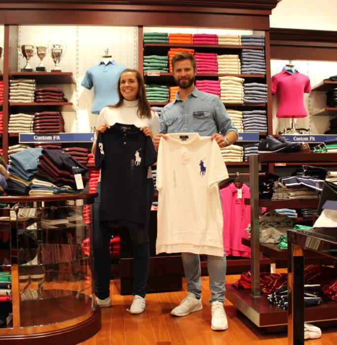 Promoterin und Promoter der Promotionagentur PRO-VOGUE für Polo Ralph Lauren