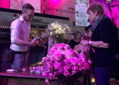 Flowerdekorateur der Promotionagentur PRO-VOGUE für Agentur Zum goldenen Hirschen Holding GmbH für Lancôme