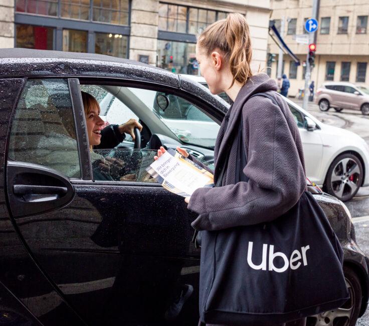 Leadgenerierung Promotion der Promotionagentur PRO-VOGUE für UBER