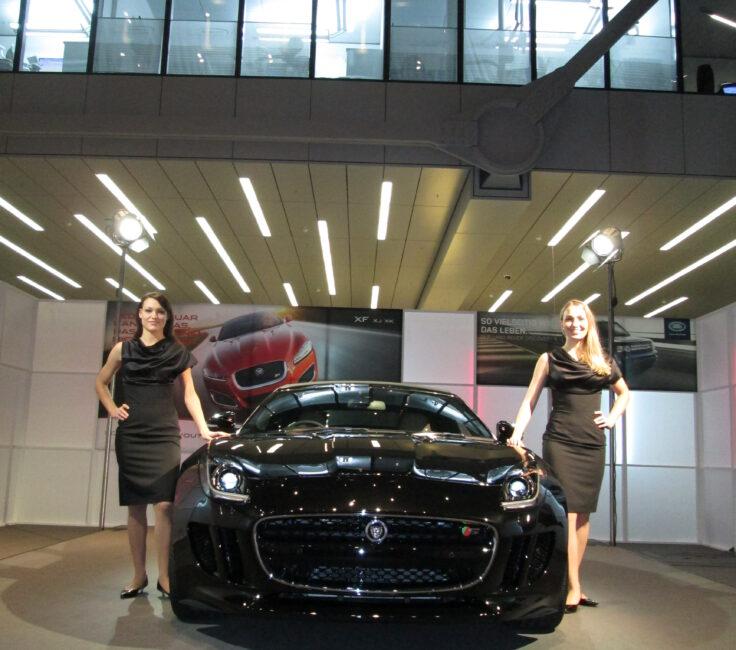 Flughafen Promotion der Promotionagentur PRO-VOGUE für Jaguar
