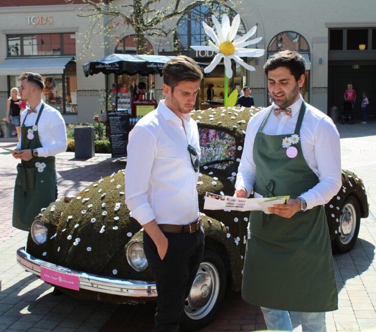 Parkplatz Promotion der Promotionagentur PRO-VOGUE für Value Retail