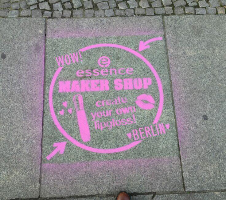 Guerilla Marketing der Promotionagentur PRO-VOGUE für Essence