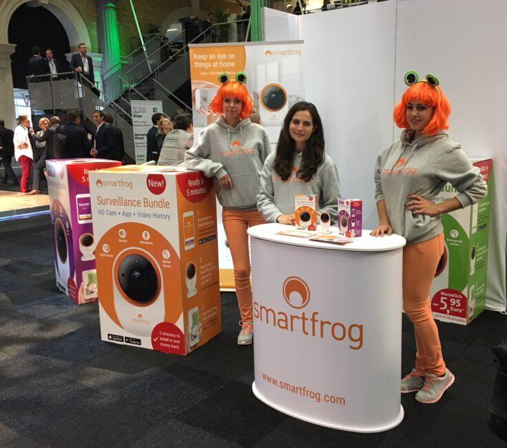 Messe Promotion der Promotionagentur PRO-VOGUE für Smartfrog