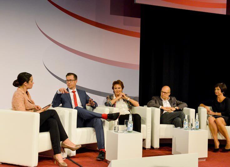 Moderation der Promotionagentur PRO-VOGUE für Schaffhausen
