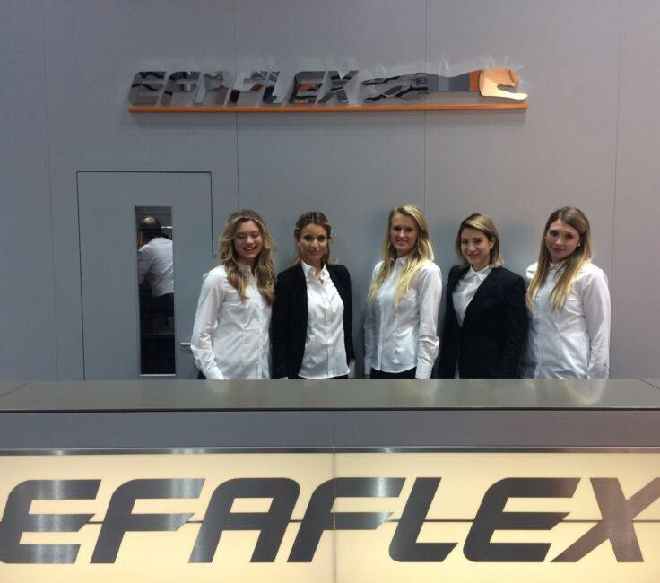 Hostessen der Hostessagentur PRO-VOGUE für Efaflex